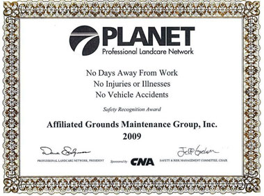 Planet Safety Award