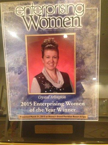 2015 Enterprising Women's Award